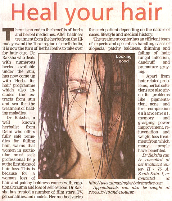 Heal your hair